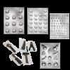 Schokolade Formen zum Selber Gießen von Figuren