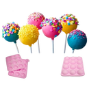 Cake Pop Silikon Backform für 12 Cakepops