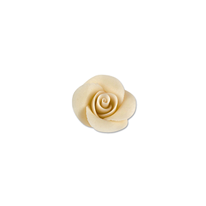 Marzipan Rose 24mm weiss
