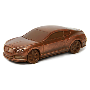 Bentley Continental GT Schokoladeauto