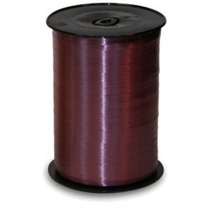 Verpackungsband Polyringelband bordeaux 5mm Spule mit 500m