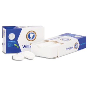 Wilhelmina Pfefferminz Tabletten Box