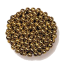 Goldperlen 6mm