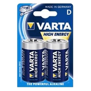 Varta Batterien Mono D 1300 plus 2er Pack.