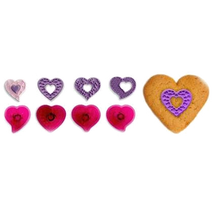 Fantasy Hearts Ausstechformen Set 40mm