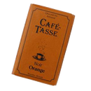 Café Tasse Noir Orange Tafel