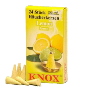 Knox Räucherkerzen Lemon 24er