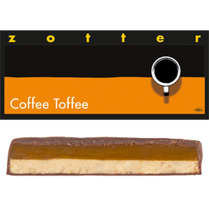 Zotter Coffee toffee