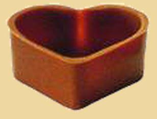 Herz Schale - Hohlkörper